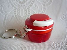 Porte clés Tupperware (keychain) Turbo Tup rouge