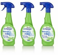 3 x Astonish Anti Bacterial Mould & Mildew Remover 750ml Trigger Spray