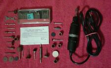 Craftsman Hobby Rotary Tool Kit Model 572.2517111