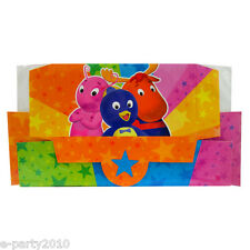 BACKYARDIGANS RECTANGLE FAVOR BOXES (6) ~ Birthday Party Supplies Treat Loot