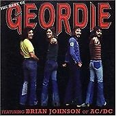 GEORDIE mint cond CD 14 tracks THE BEST OF brian johnson AC/DC