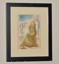 SALVADOR DALI Listed Artist GENUINE 1946 Color Print in MUSEUM BLACK FRAME #3