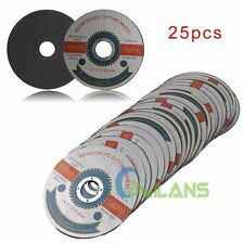"25pcs/Pack 115mm/4.5"" Thin Stainless Steel Grinding Cutting Cut-off Wheels Discs"