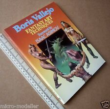Boris Vallejo Fantasy Art Techniques 1985. Asimov Intro. Superb Paper Tiger Book