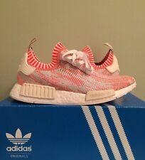 Adidas Nmd R1 Pk White Red Pink Camo Sz 8.5 Ba8599 Primeknit Zebra Yeezy Boost