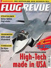 2r0202/ Luftfahrtzeitschrift - FLUG REVUE - Ausgabe 2/2002 - TOPP HEFT