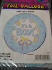 """Mum to Be Baby It's a Boy Shower Birth Party Foil helium quality Balloon 18"""""""