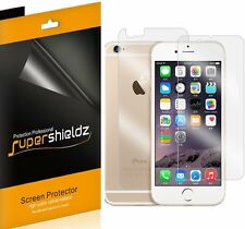 6Pcs Supershieldz Front + Back Screen Protector Shield For Apple iPhone 6 4.7""