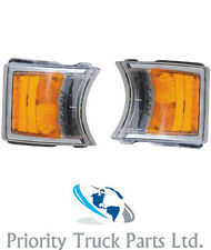 Scania P/G/R Series (2010-) Indicator Lamp C/W LED Daytime Running Light (Pair)