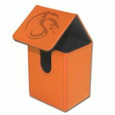 1 BCW Deck Case LX Orange MTG Magic the Gathering Deck Protector Box