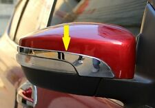 FORD ESCAPE KUGA 2013 2014 CHROME REARVIEW MIRROR SIDE MOLDING COVER TRIM