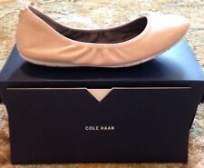 Cole Haan NWB Leather Zerogrand Flats 7 Ballet Pink