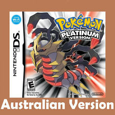 New 3DS NDSi NDS Lite Game Card Pokemon Platinum Version Gift For Children Adult