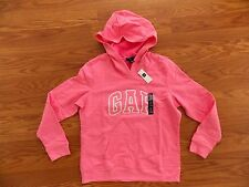 NWT Womens GAP Pink Pullover Hoodie Sweater Size M Medium