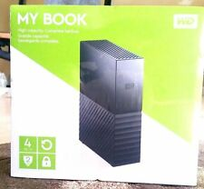 My Book Western Digital 4TB External HD, Newest Version, Factory Sealed