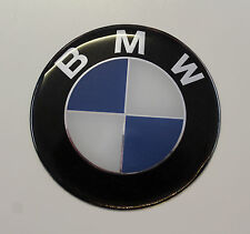BMW STICKER / AUTOCOLLANT - 58mm Diamètre brillant finition gel en forme de dôme