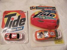 Tide Racing Champions #5 ,1992 & # 10, 1997 Thunderbird,Chevy Lumina      RICKY