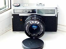 Lomo SOKOL 2 Soviet RANGEFINDER 35 mm film camera w/s lens INDUSTAR-70 TESTED