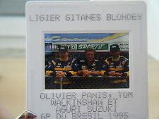 Olivier Panis Tom Walkinshaw Aguri Suzuki Ligier Gitanes Mugen Honda JS 41 diapo