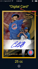 2016 Topps Bunt Gold Label Signature - Carl Edwards Jr - (25 cc) -  DIGITAL CARD