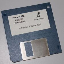 XTRA-RAM FRONTIER SOFTWARE - ATARI ST MEMORY HARDWARE TESTING REPORTING SOFTWARE