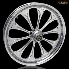 "Harley Davidson Street Glide 21"" Inch Chrome Wheel ""Wizard"" Harley Wheels"