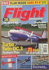 Quiet And Electric Flight International Turbo Twin DC.3 May 2015 FREE SHIPPING!