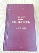 LAW AND THE ARCHITECT !?  FIRST EDITION  1925 FUN CHEEKY GIFT POTENTIAL 14X22CM