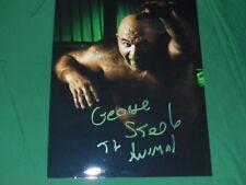 George Animal Steele Autographed 8x10 Photo