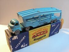 """MATCHBOX LESNEY ACCESSORY PACK No. A-2 BEDFORD """"S"""" TYPE CAR TRANSPORTER"""