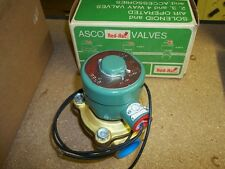 Asco Red Hat 8211B54 Selenoid and 2 Way Valve New Old Stock