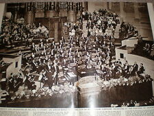 Photo article Sir Adrian Boult and Birmingham Symphony Orchestra 1959