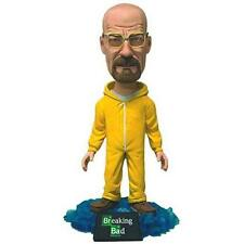 "Mezco Toyz Breaking Bad Bobblehead Walter 6"" Action Figure New"