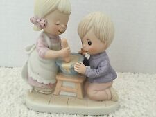 "COLLECTIBLE JENNIFER ALEXANDER'S ""BUTTERSCOTCH PUDDING"" PORCELAIN FIGURINE FOR R"