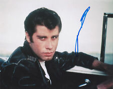 John Travolta - Danny Zuko - Grease 8x10 - SIGNED - K9
