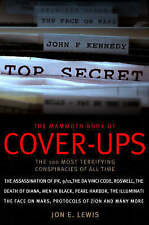 The Mammoth Book of Cover-Ups, Lewis, Jon E., Very Good condition, Book
