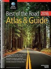 2016 Best of the Road Atlas and Guide : Ratg by Rand McNally (2015, Paperback)