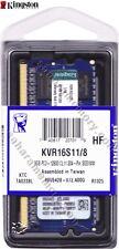 Kingston 8GB (1X 8GB)  DDR3 1600 PC3-12800 CL11 204 Pins SO-DIMM KVR16S11/8