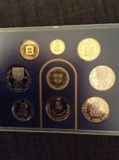 Portugal 1998 - 8 Coin Proof Set (Rare Find-Coin Case Has Never Been Opened)