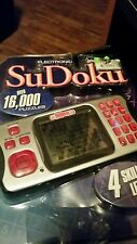 Electronic SuDoku Handheld New 4 Levels 16,000 Puzzles Excalibur Model 452-2k-CS