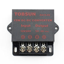 SUPERNIGHT™ DC-DC 12V/ 24V to 5V 3A Converter Step Down Regulator Module 15W