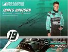 2015 JAMES DAVISON signed INDIANAPOLIS 500 PHOTO CARD POSTCARD INDY CAR HONDA