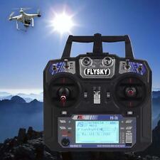 FlySky FS-I6 FS-IA6 2.4G 6CH RC Radio Control Transmitter Receiver System TX JS