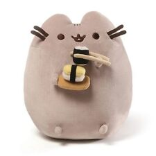 """PUSHEEN the CAT ~ SUSHI SNACKABLE ~ 9 1/2"""" Plush by Gund ~ NWT"""