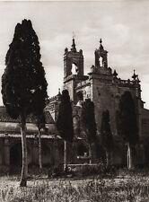 1922 Vintage SPAIN Jerez de la Frontera Architecture Landscape Art By HIELSCHER