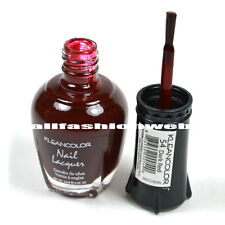 1 Kleancolor Nail Polish Lacquer #54 Dark Red Manicure