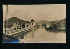 PANAMA CANAL approaching Pedro Miguel Locks c920/30s? -RP PPC