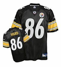 OOP Pittsburgh Steelers Hines Ward #86 Reebok Replica Screened Jersey