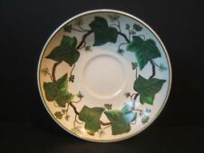 """Wedgwood Napoleon Ivy 5.5"""" Saucer A L 4751 Green Queen's Ware"""