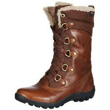 Timberland 7610 Womens Mount Hope Brown Winter Boots Shoes 5.5 Medium (B,M) BHFO